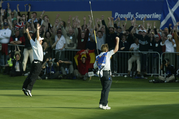 heroes of the Ryder Cup