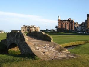 Golfing in fife