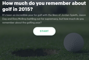 How much do you remember about golf in 2015?