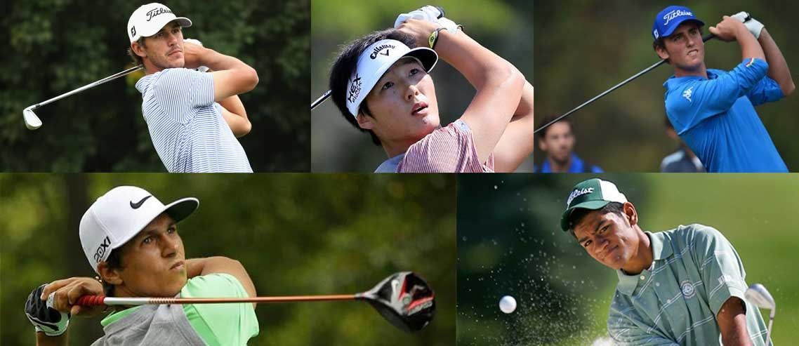 Five young golfers to watch in 2015