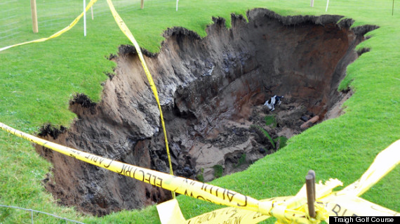 unusual incidents and injuries on the golf course