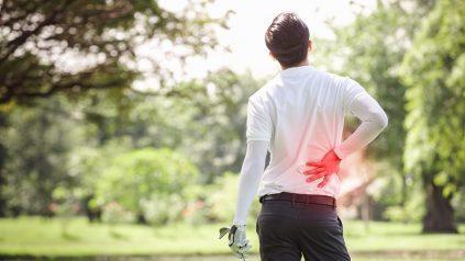 golf back injury