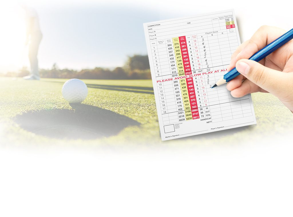 handicap scheme golf