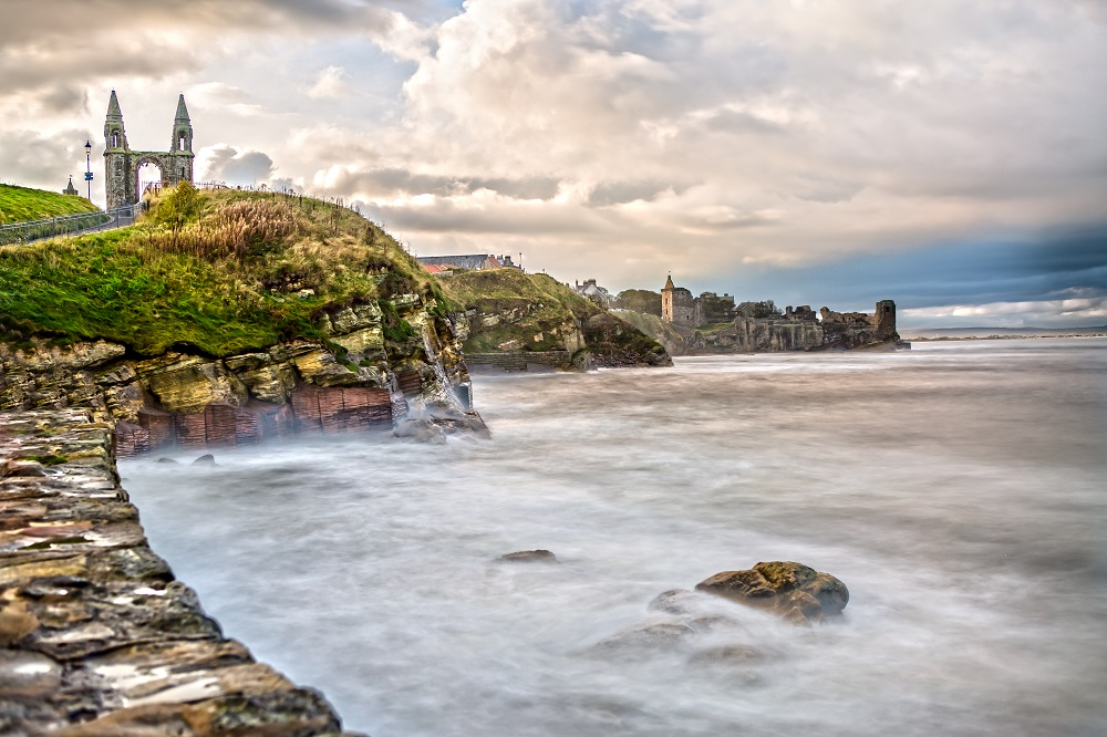 how do golf courses stop coastal erosion