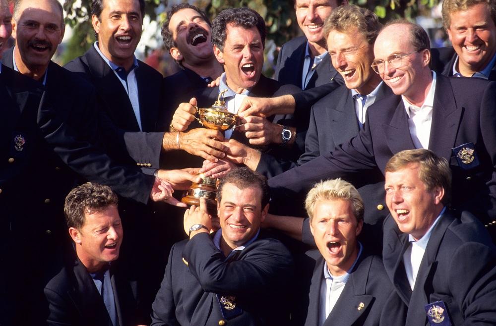 bernard gallacher 1995 ryder cup
