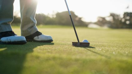 golf pre shot routine
