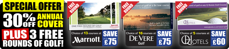 30% OFF Annual Golf Insurance with Golf Care