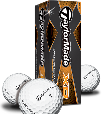3 FREE Taylormade XD Golf Balls