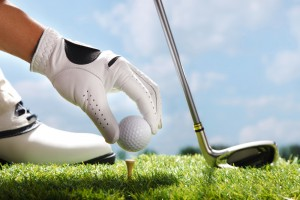 Golf-ball-Putter-and-glove