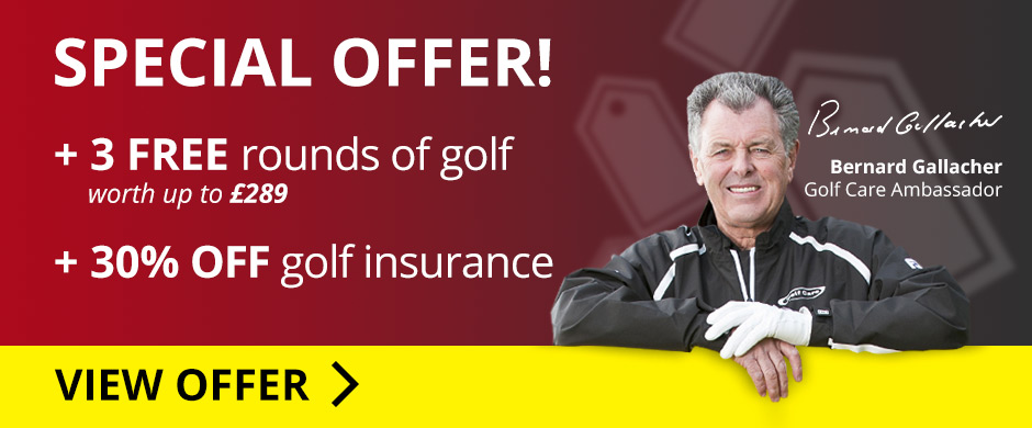 25% OFF Annual Golf Care Insurance Policy
