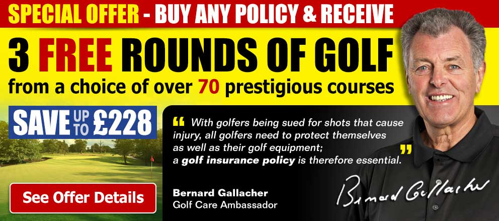 3 Free Rounds of Golf