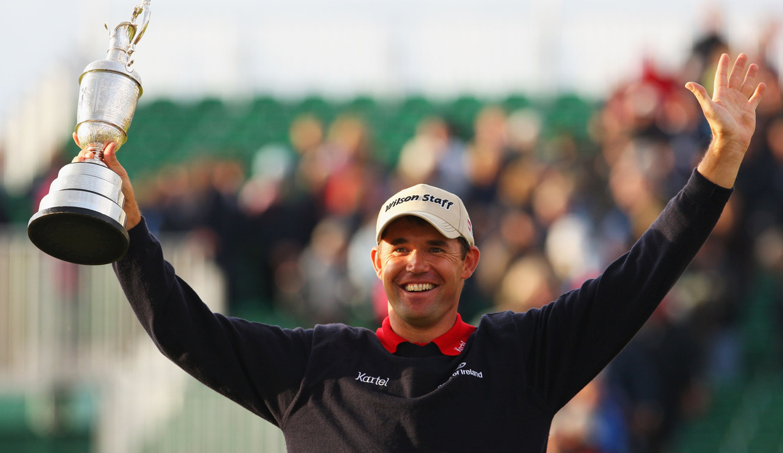2007 Padraig Harrington 136th Open Champion Carnoustie